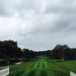 The opening tee shot