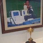 The iconic Seve in the clubhouse, Ryder Cup