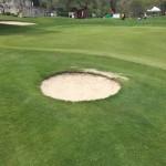 Smallest ever bunker...?