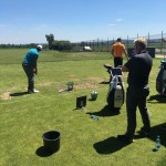 With Mark Pearson on the range