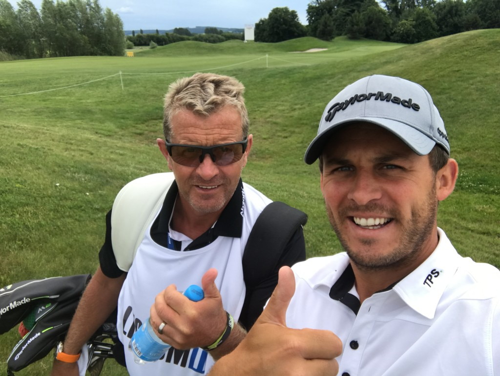 Luckiest caddy on Tour... best boss and gets paid a fortune ;-)