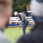 Chris Hanson Round 1 British Masters 2018